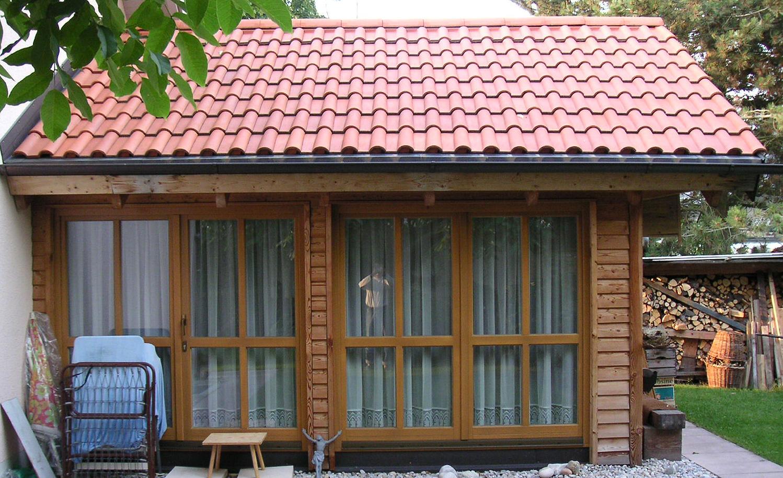 Individuelle Gartenhäuser & Anbauten